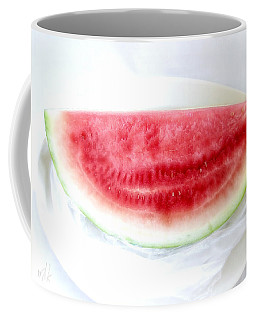 Watermelon Summer Coffee Mug by Louise Kumpf