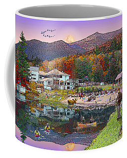 Waterville Estates In Autumn Coffee Mug