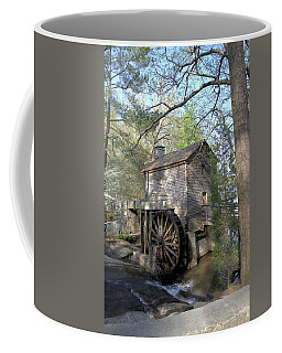 Coffee Mug featuring the photograph Waterwheel At Stone Mountain by Gordon Elwell