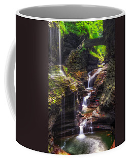 Watkins Glen Rainbow Falls Coffee Mug