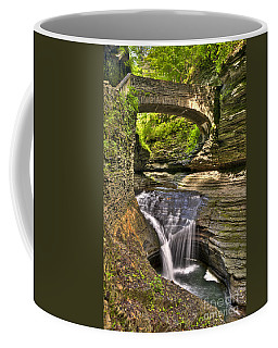 Watkins Glen Waterfalls Coffee Mug