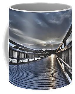 Watson Bayou Pier Hdr Coffee Mug