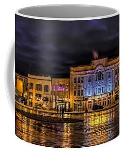 Wausau Ice Rink After Dark Coffee Mug