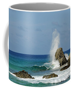 Wave At Boldro Beach Coffee Mug