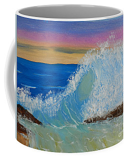 Wave At Sunrise Coffee Mug