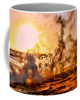 Wave Crasher La Jolla By Diana Sainz Coffee Mug