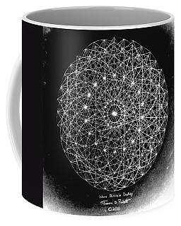 Wave Particle Duality Black White Coffee Mug