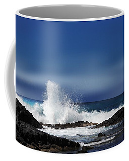 Coffee Mug featuring the photograph Waves by Athala Carole Bruckner