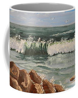 Waves Crashing Coffee Mug