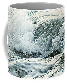 Waves In Stormy Ocean Coffee Mug
