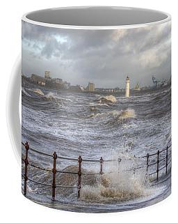 Waves On The Slipway Coffee Mug