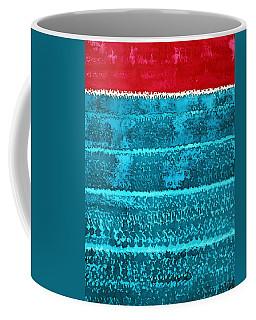 Waves Original Painting Coffee Mug