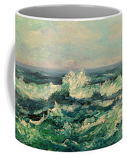 Waves Painting Coffee Mug