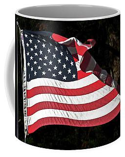 Waving Flag Coffee Mug