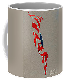Waving Coffee Mug by Lydia Holly