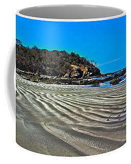 Wavy Beach Coffee Mug