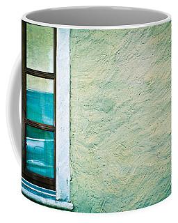 Wavy Wall With Window Coffee Mug
