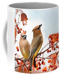 Beautiful Waxwing  Coffee Mug