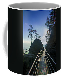 Way Into The Light On Neurathen Castle Coffee Mug