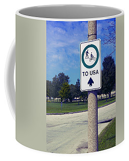 Way To The Usa Coffee Mug