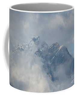 Coffee Mug featuring the photograph Way Up Here by Greg Patzer