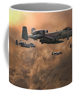 Waypoint Alpha Coffee Mug by Dave Luebbert