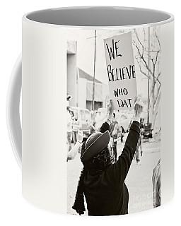 We Believe Coffee Mug