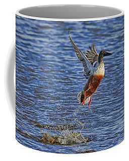 Coffee Mug featuring the photograph We Have Liftoff by Gary Holmes
