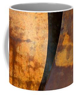 Weathered Bronze Abstract Coffee Mug