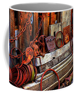 Weathered Rims And Chains Coffee Mug