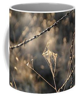 Coffee Mug featuring the photograph web by David S Reynolds