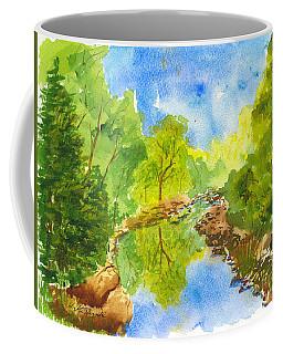 Weber River Reflection Coffee Mug