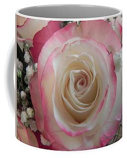 Coffee Mug featuring the photograph Wedding Bouquet by Deb Halloran