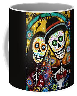 Wedding Dia De Los Muertos Coffee Mug