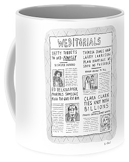 Weditorials Coffee Mug