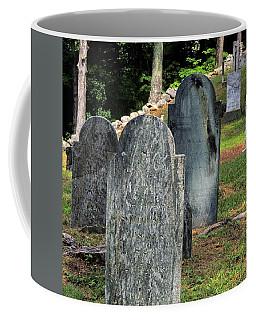 Weeks Cemetery Coffee Mug by Mim White