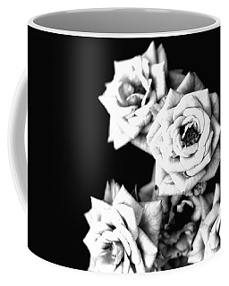 Coffee Mug featuring the photograph Weeping Roses by Rachel Mirror