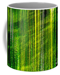 Weeping Willow Tree Ribbons Coffee Mug