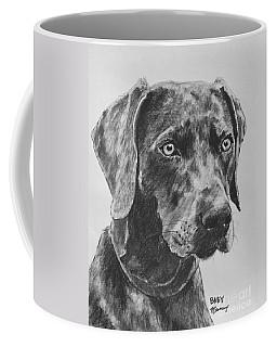 Weimaraner Drawn In Charcoal Coffee Mug