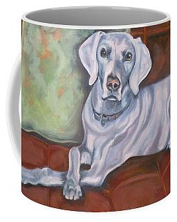 Weimaraner Reclining Coffee Mug