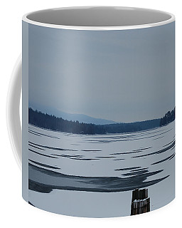 Coffee Mug featuring the photograph Weirs Beach Nh Almost by Mim White