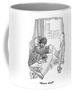 Welcome Aboard! Coffee Mug