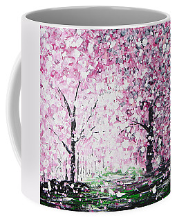 Welcome Spring Coffee Mug by Kume Bryant