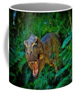 Welcome To My Park Tyrannosaurus Rex Coffee Mug