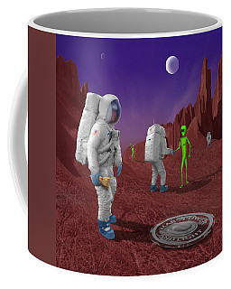 Welcome To The Future Coffee Mug