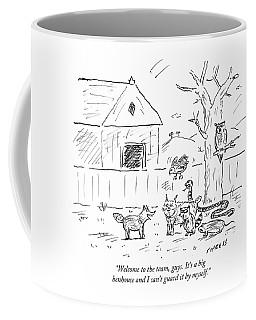 Welcome To The Team Guys Coffee Mug