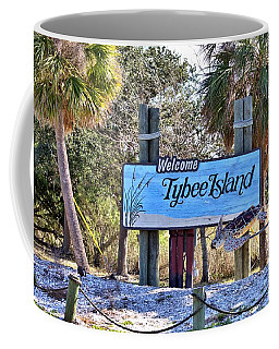 Welcome To Tybee Coffee Mug