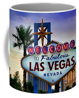 Welcome To Your Best Vacation Coffee Mug by Kasia Bitner