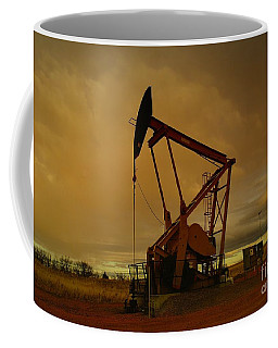 Wellhead At Dusk Coffee Mug
