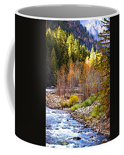 Wenatchee River - Leavenworth - Washington Coffee Mug